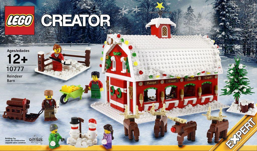 LEGO Winter Village Sets Bundle 3 INSTRUCTIONS ONLY for LEGO Bricks Christmas