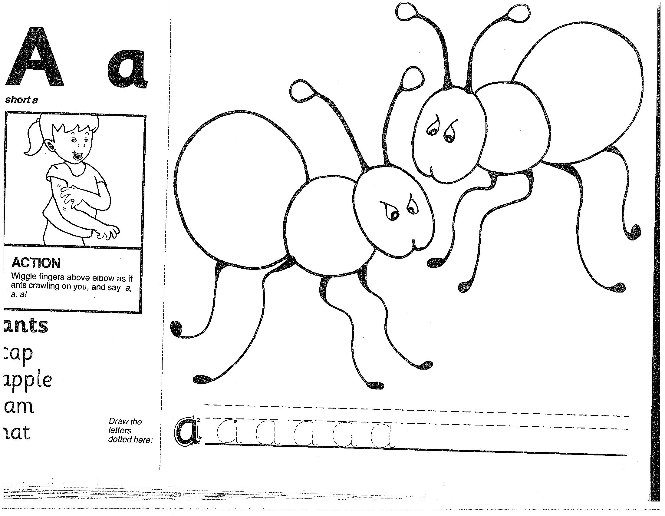 Jolly Phonics Worksheets For Preschoolers