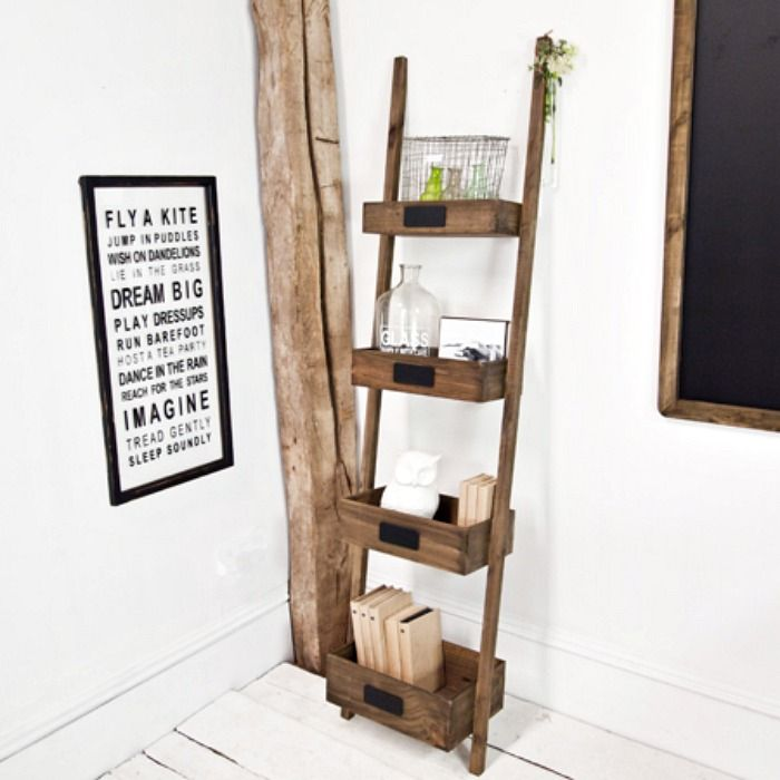 17 Best images about LADDERS on Pinterest   Industrial  Shelves and Wooden  ladder shelf. 17 Best images about LADDERS on Pinterest   Industrial  Shelves