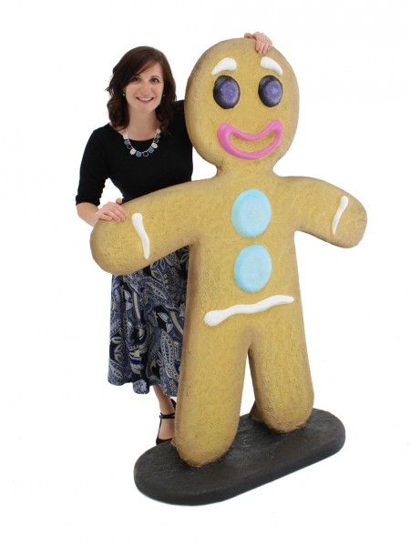 Giant Gingerbread Man In 2019 Library Mystery Themes Gingerbread