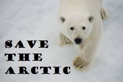 """Man is the most insane species.  He worships an invisible God and destroys a visible nature. Unaware that this nature he´s destroying is this God he´s worshipping."" #SaveTheArctic #climatechange"