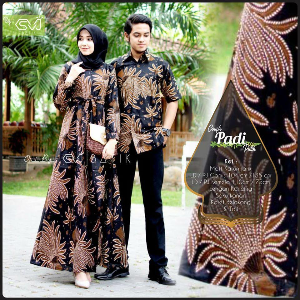 TERBARU, WA 8-8-8 Gamis Batik Formal di 8  Muslim
