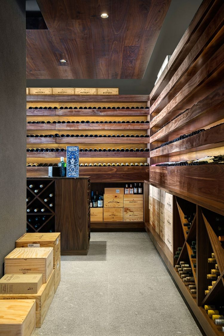Une cave à vin pour les grands collectionneurs de vin ...