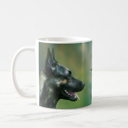 office pet ideas. Dutch Shepherd Dog - Dutchie -Hollandse Herder Coffee Mug Home Gifts Ideas Decor Special Unique Custom Individual Customized Individualized Office Pet O