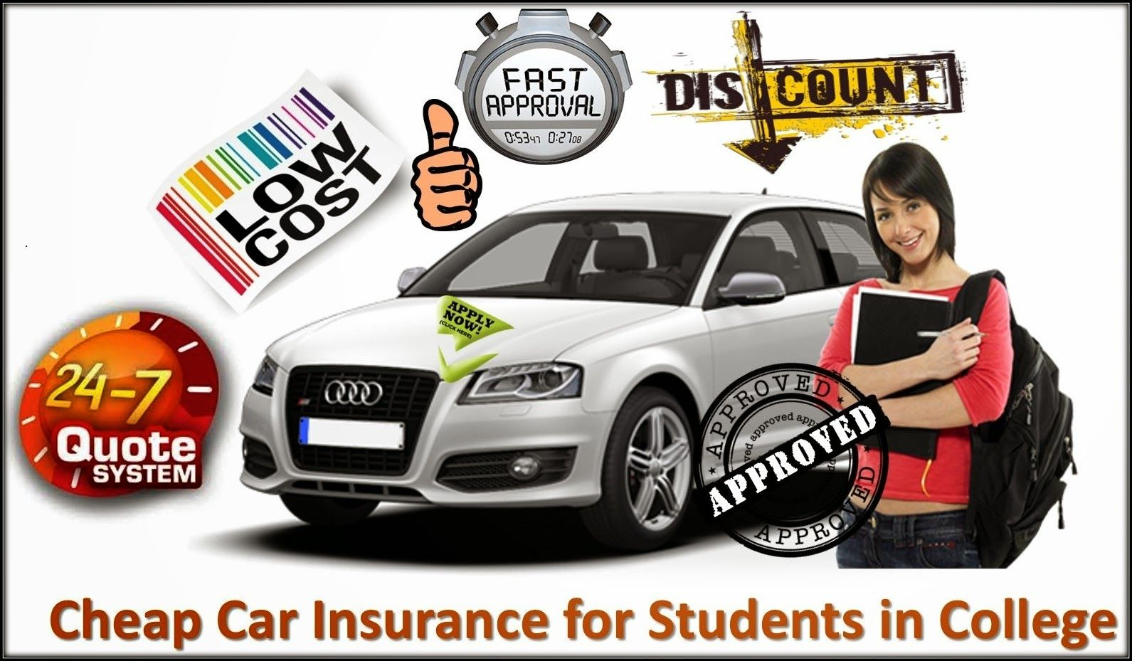 Cheap Car Insurance for Students in College, Which Makes