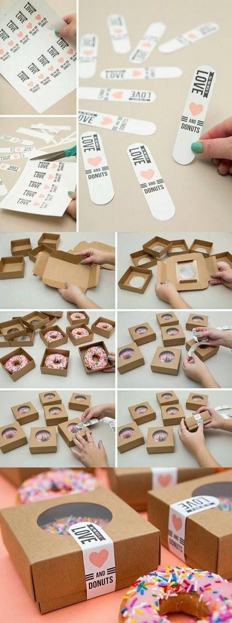Donut love | Handmade wedding favours | handmade wedding