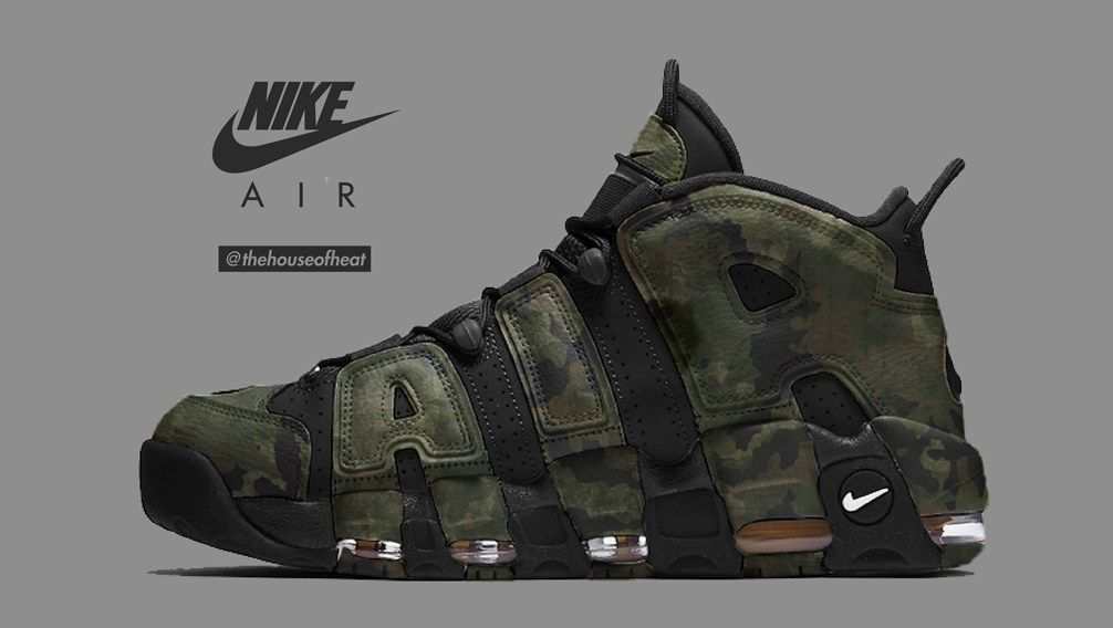 """e5b6a311ac86 Today s Concept   Nike Air More Uptempo """"Camo"""" – Kickskilla"""