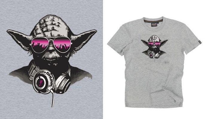 9ea420180 Chunk DJ Yoda | T-Shirt Designs | Shirts, T shirt, Shirt designs