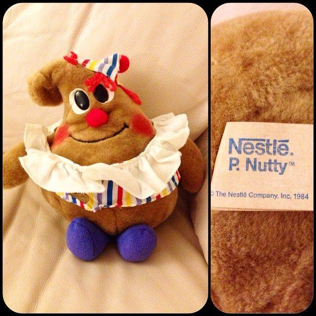 1984 #nestle P. Nutty Plush