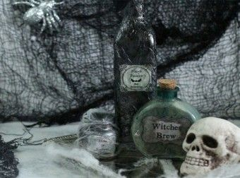 Learn How To Make amazing Potion Bottles For Halloween