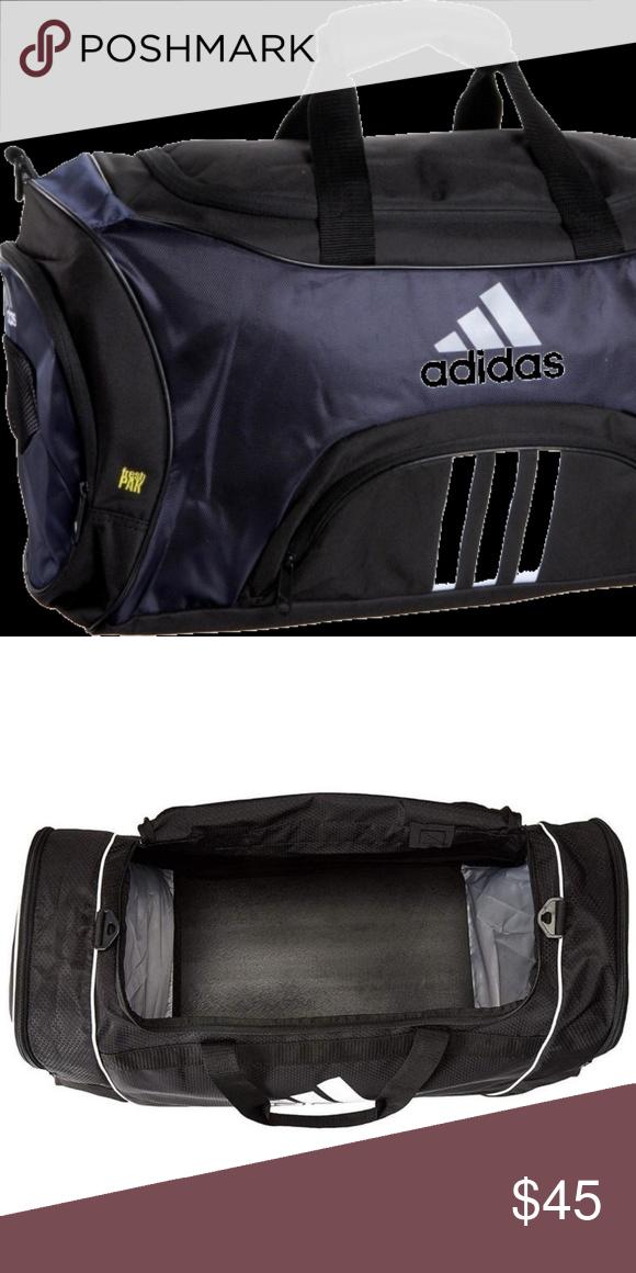Adidas Striker Duffel Bag - Large Black Like new! The medium Striker Duffel  is built e70524882d