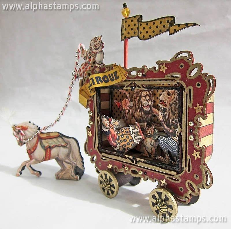 Circus Train Car Swap