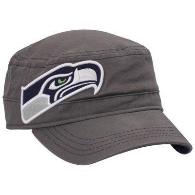 exquisite design best loved retail prices Seattle Seahawks New Era Women's Graphite Fashion Chic Cadet ...