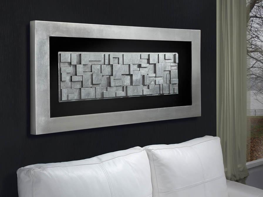 City bajorrelieve rectangular marco pan de plata (752214) - Schuller / https://iLamparas.com / lamps lamparas deco