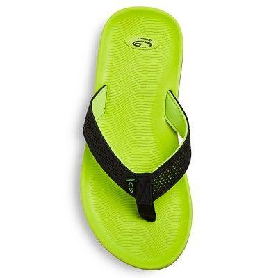 55c7b8669e8 Boys  Felipe Footbed Flip Flop Sandals - C9 Champion - Yellow XL ...