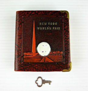 Vintage19391940NEWYORKWORLDSFAIRSouvenirBOOKCOIN