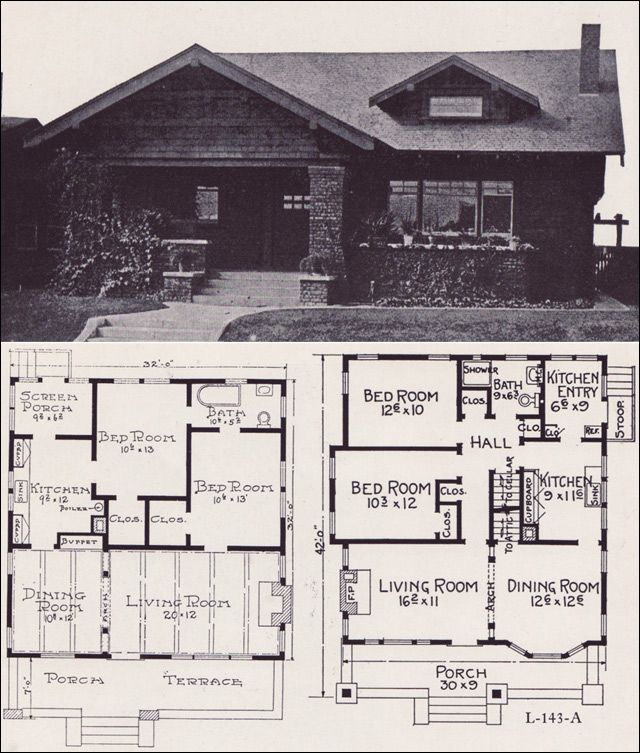 images about Arts  amp  Crafts floor plans on Pinterest       images about Arts  amp  Crafts floor plans on Pinterest   Bungalows  House plans and Craftsman
