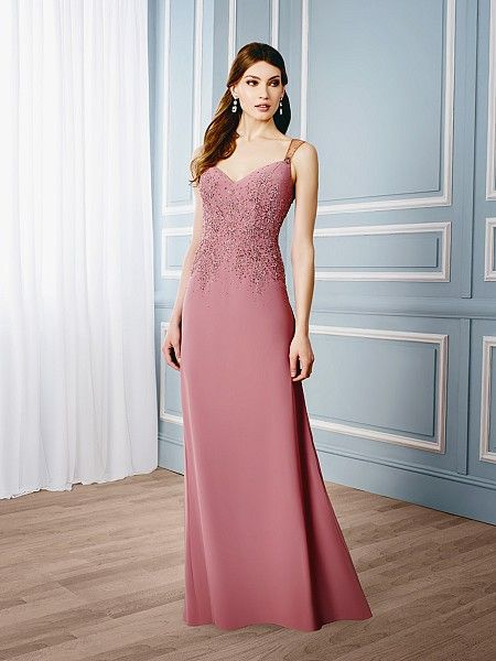 Val+Stefani+Style+MB7532 A+BEAUTIFUL+MOTHER+OF+THE+BRIDE+GOWN+USES+CHIC+BEADING+ON+THE+BODICE+TO+FLATTER+THE+SIMPLE+LONG+A-LINE+SKIRT.+THE+BACK+REVEALS+AN+ILLUSION+BACK+WITH++KEYHOLE+OPENING+BRINGING+A+TOUCH+OF+ELEGANT+FLARE+TO+THIS+CHIC+DRESS.+PERFECT+FOR+ELEGANT+CITY+WEDDINGS.+
