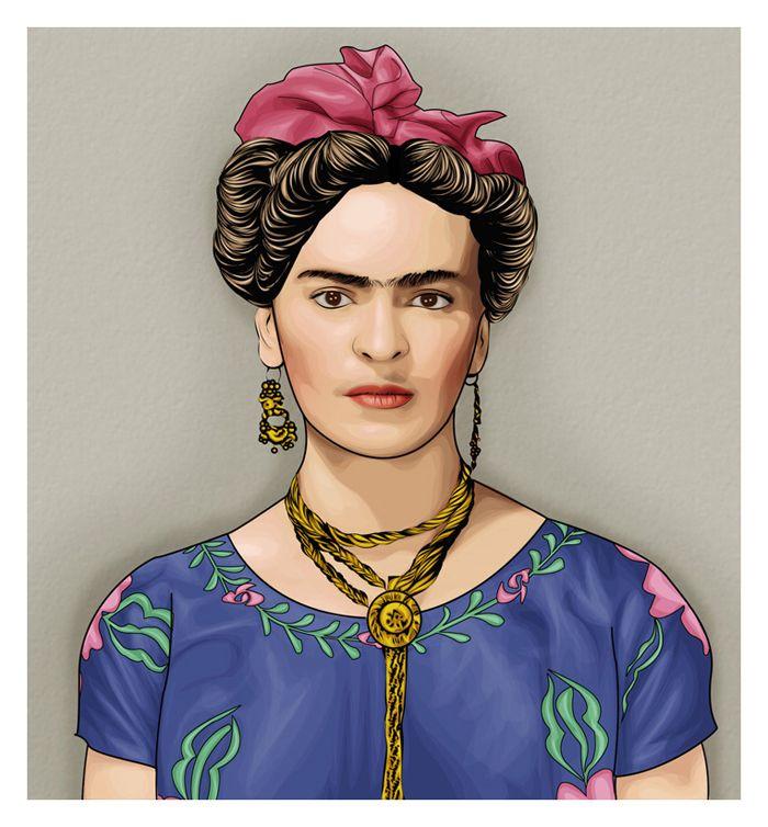 Frida Kahlo. by mediodia on DeviantArt