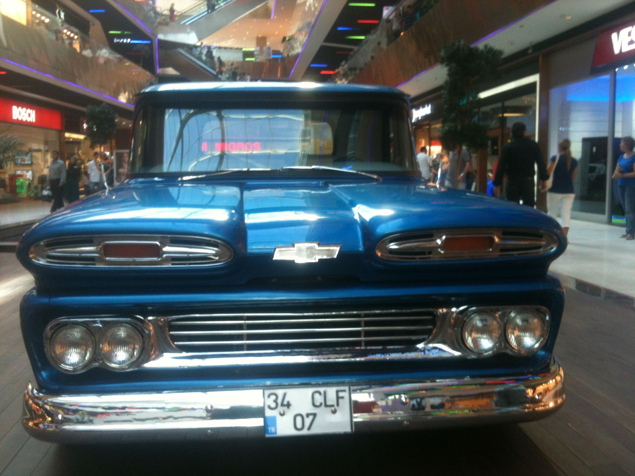 1961 Chevy Truck Grill Pickup Chevrolet Apache Classiccars 2048x1536