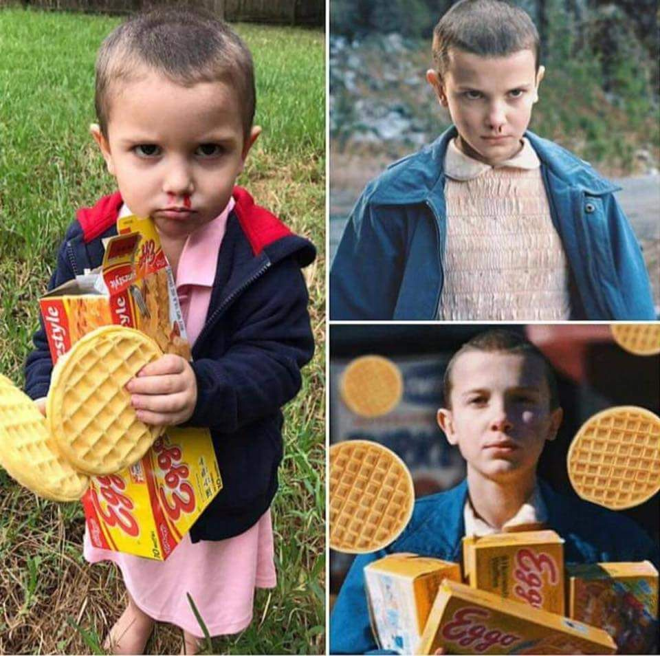 Parenting Win Eleven Costume From Stranger Things