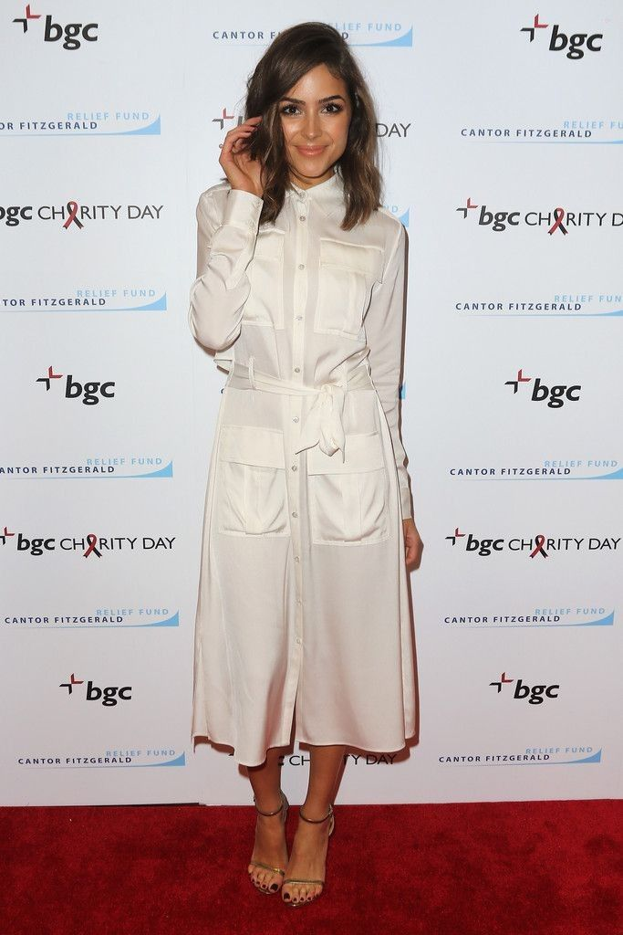 Annual Charity Day Hosted By Cantor Fitzgerald And BGC - BGC Office - Arrivals - Celebrity Fashion Trends