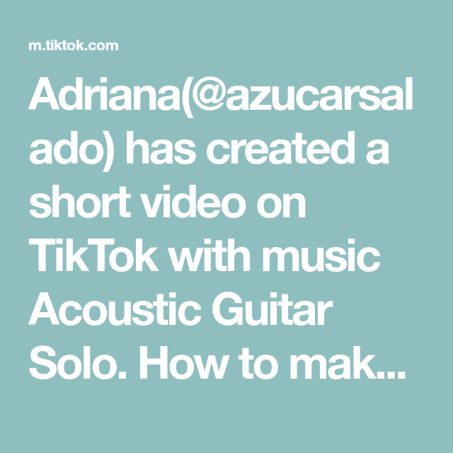 Adriana Azucarsalado Has Created A Short Video On Tiktok With Music Acoustic Guitar Solo How To Make Conchas Part 2 Music The Originals Steak And Broccoli