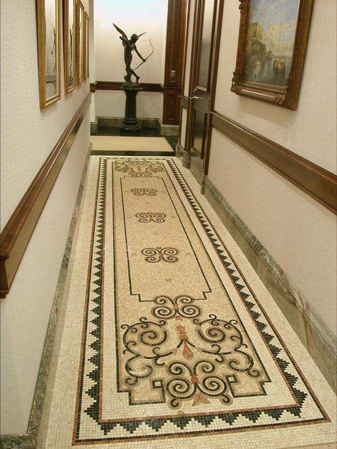 Diseño para pasillos. | Ideas para el hogar | Pinterest | Mosaicos ...
