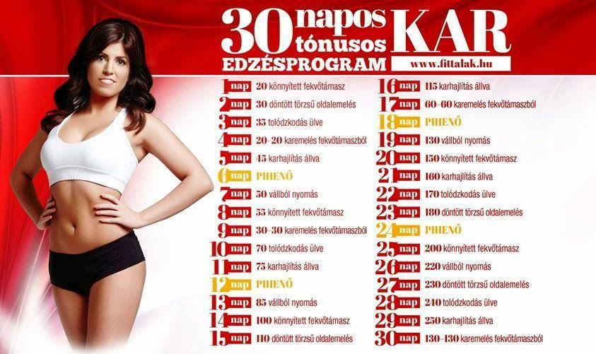 30 napos combfogyókúra kihívás kb)