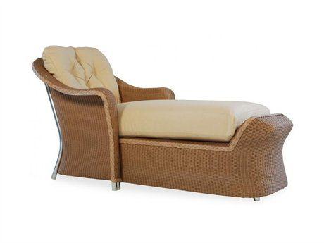 Lloyd Flanders Reflections Wicker Chaise Lounge Outdoor Wicker