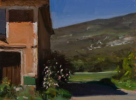 Postcard from Provence   Daily Painting #2128   A painting a day by Julian Merrow-Smith