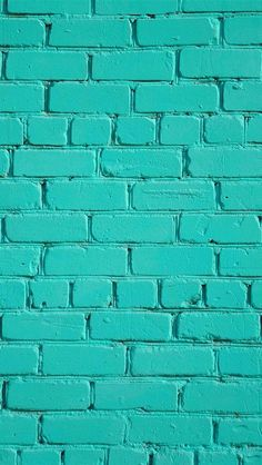 Lockscreens Turquoise Wallpaper Ipad Wallpaper Brick Wallpaper Iphone