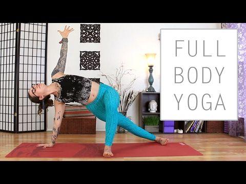 full body yoga  30 minute energizing yoga flow for