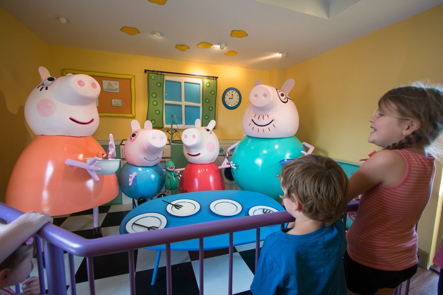 Paultons Park Peppa Pig World The Most Sacred Place For Any Toddler Peppa Pig World Toddler Travel Peppa