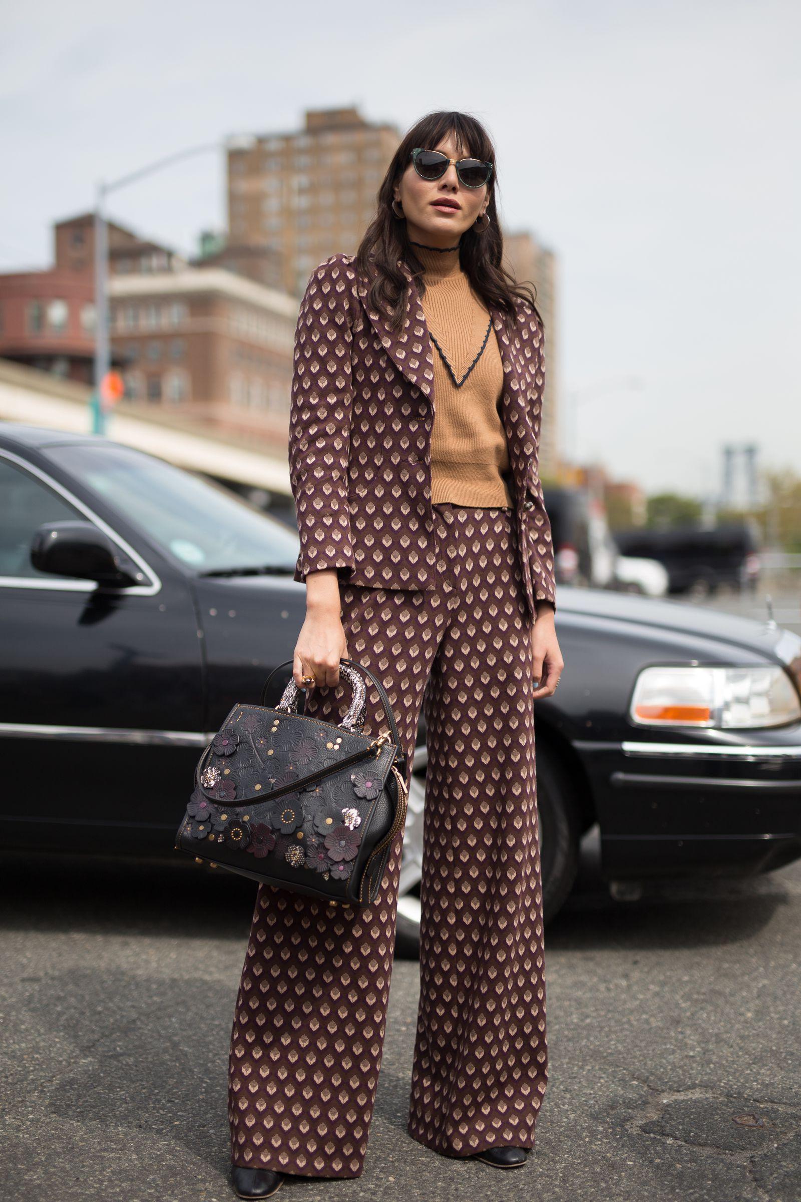 e6fa38737c62 Best Street Style New York Fashion Week SS18- ellemag