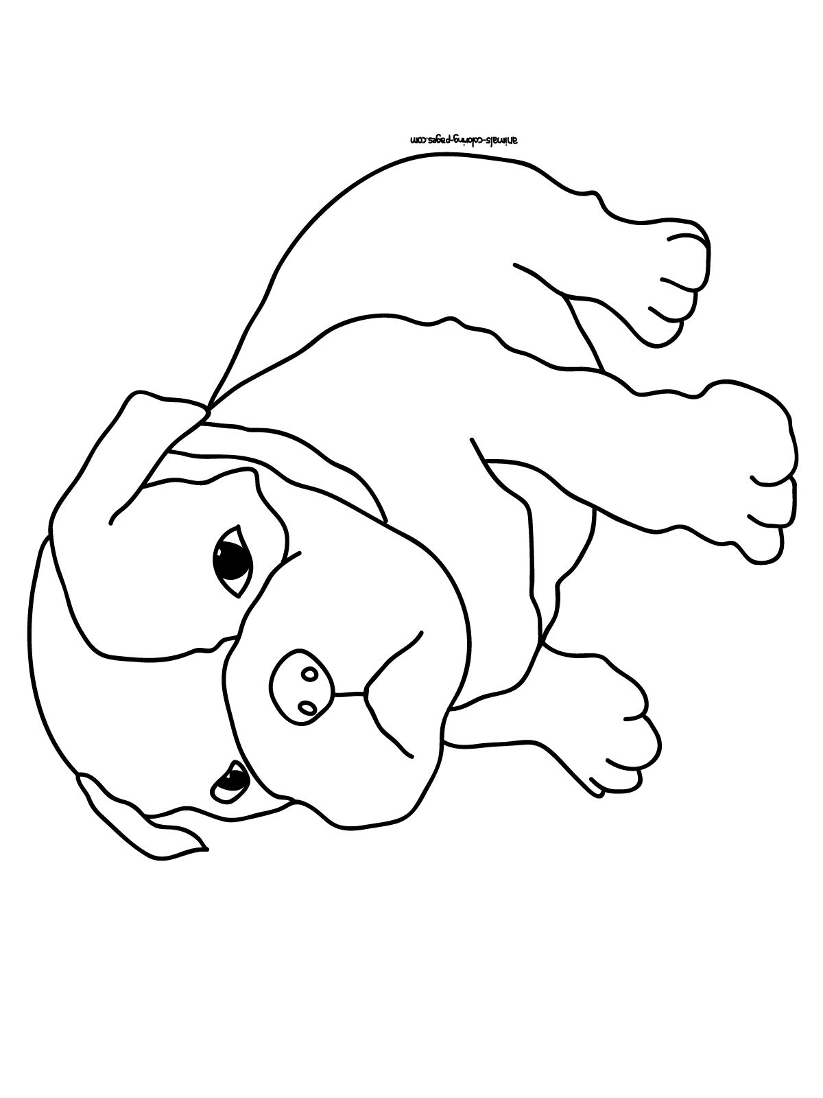 Dog Coloring Pages For Kids Printable Then Picturesque Dog Dog .