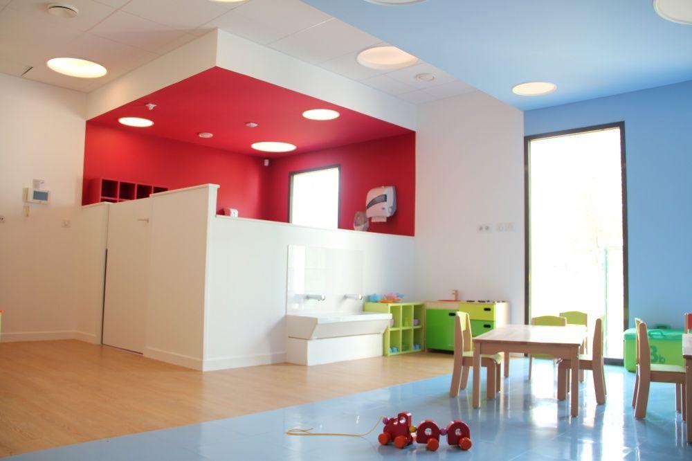 biocr che plan de change ouvert et color cr che structure pinterest ouvert plans et cr che. Black Bedroom Furniture Sets. Home Design Ideas