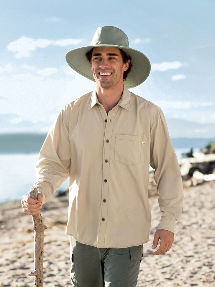 9758d890e956ec Camp Shirt - Solumbra: All Day 100+ SPF Sun Protective Clothing - Style#  17170