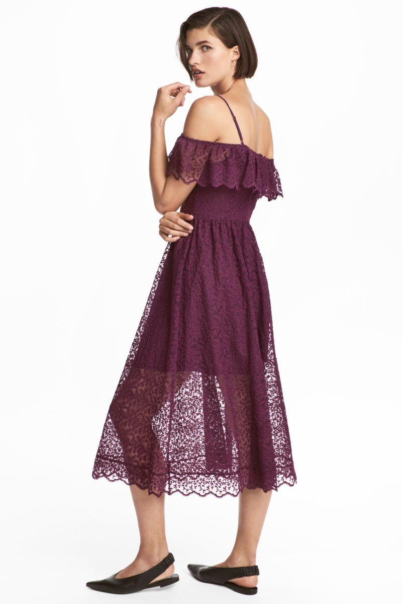 8fb013e3abb4 Lace Off-the-shoulder Dress