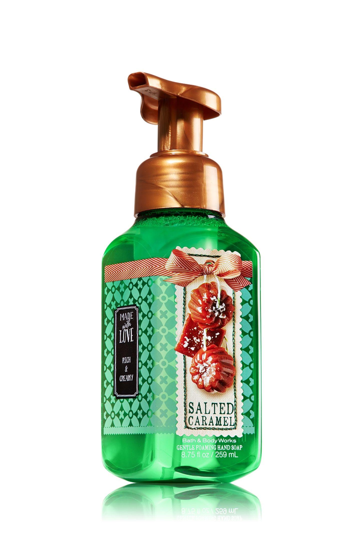 Salted Caramel Gentle Foaming Hand Soap Soap Sanitizer Bath