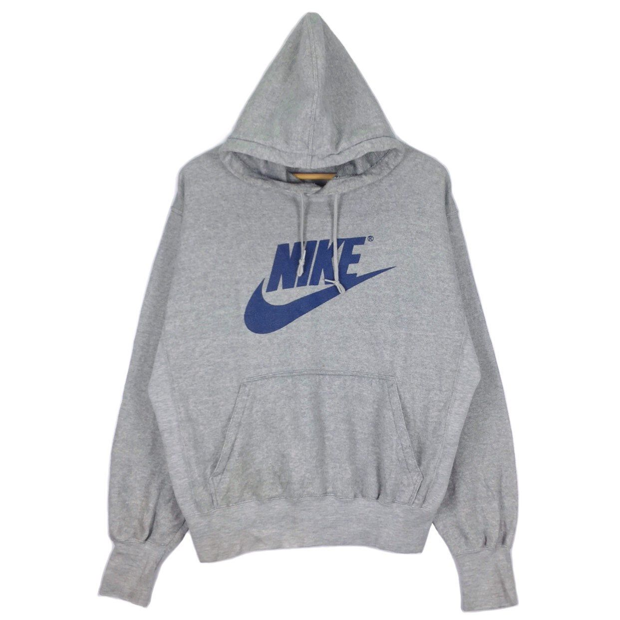 Excited To Share This Item From My Etsy Shop Vintage 90s Nike Swoosh Hoodie Sweatshirt Big Logo Spellout Grey Tag Nike Outfits Vintage Nike Hoodies For Sale