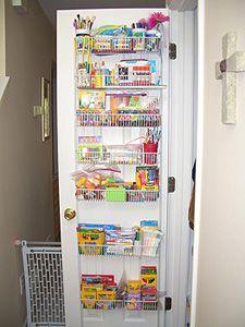 Art Supply Storage Supplies