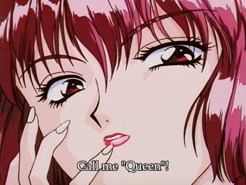 Aesthetic 90s Anime Girl