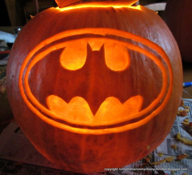 Batman Pumpkin Stencils Batman Pumpkin Carving Patterns