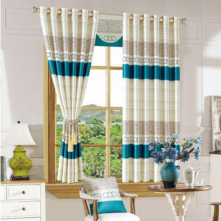 Günstige 2 STÜCK Kurze Vorhänge für Wohnzimmer Schlafzimmer Studie - moderne wohnzimmer vorhange