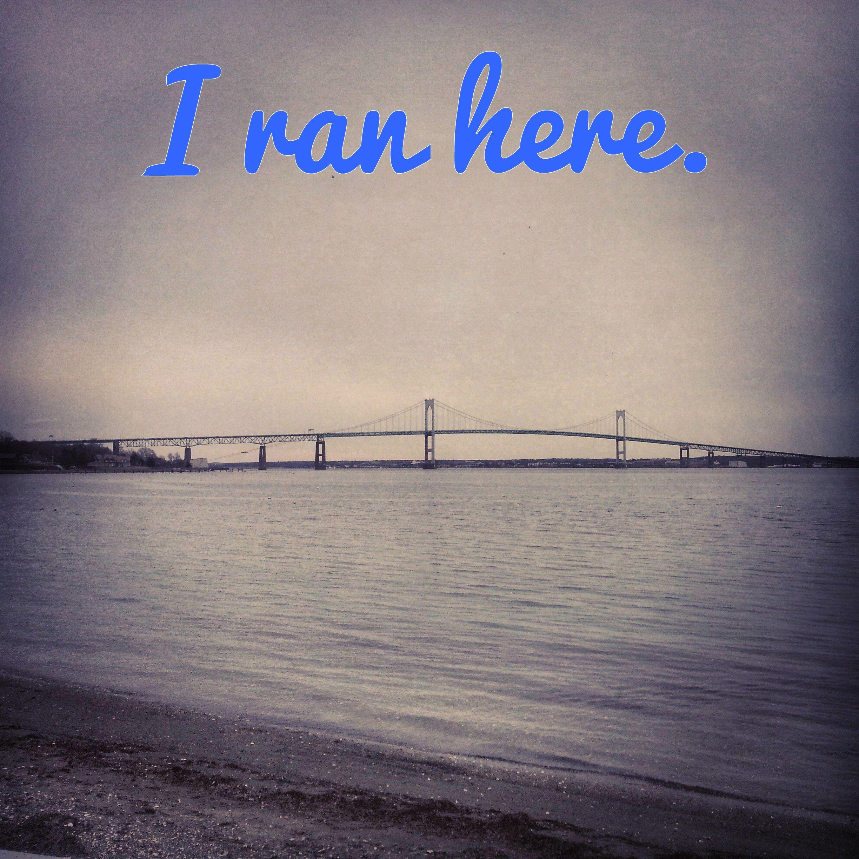 Newport, RI  #newport #rhodeisland #pellbridge #beachrun