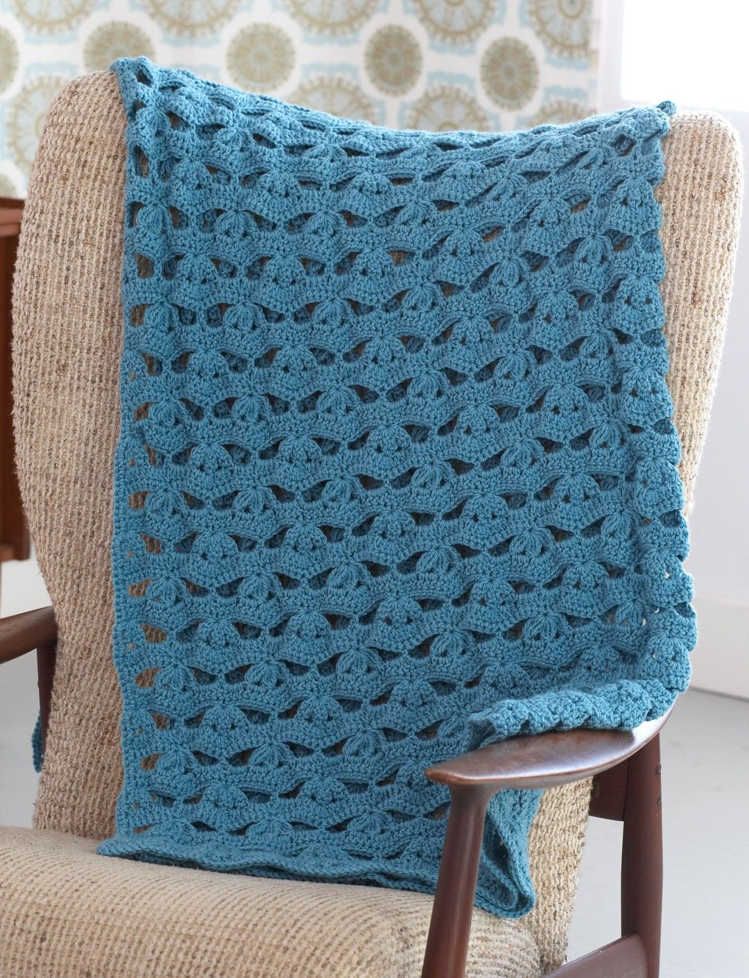 Light And Airy Afghan - Free Crochet Pattern - (yarnspirations ...
