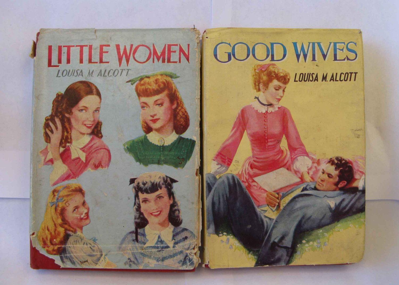 2 louisa may alcott titles vintage books little women