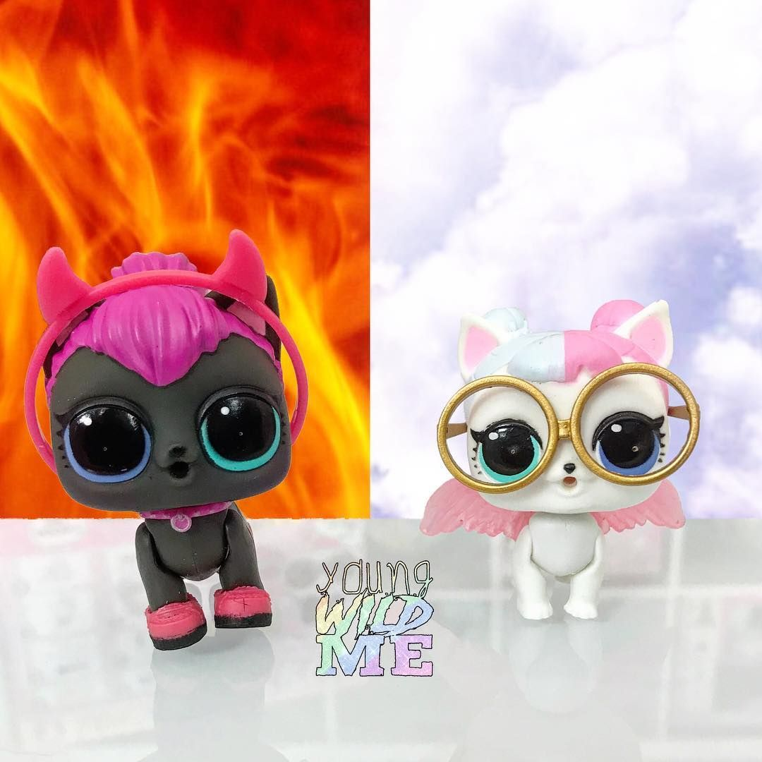 There Is No Doubt That Spicy Kitty Sugar Pup Are Opposites Whos Your Favorite Make Sure To Check Us Out On Youtube Weve Got A Full Lol Lol Dolls Surprise