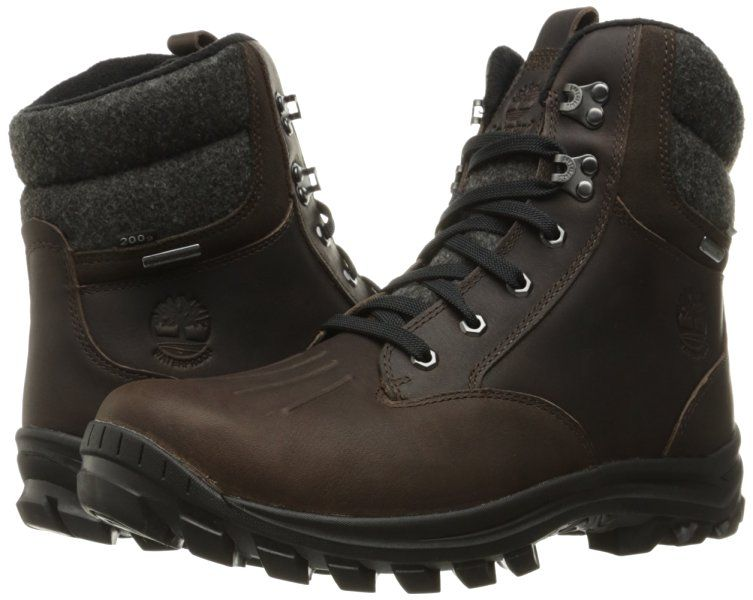 c847ed6ade2 Timberland Men's Chillberg Mid Waterproof Insulated Ankle Boots ...